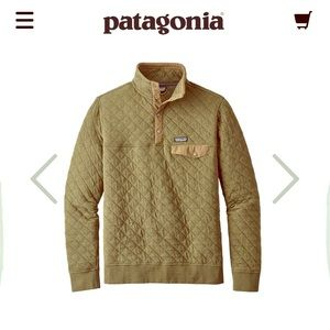 Patagonia Men's Organic Quilt Snap T Pullover